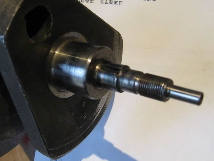 BSA crankshaft quill