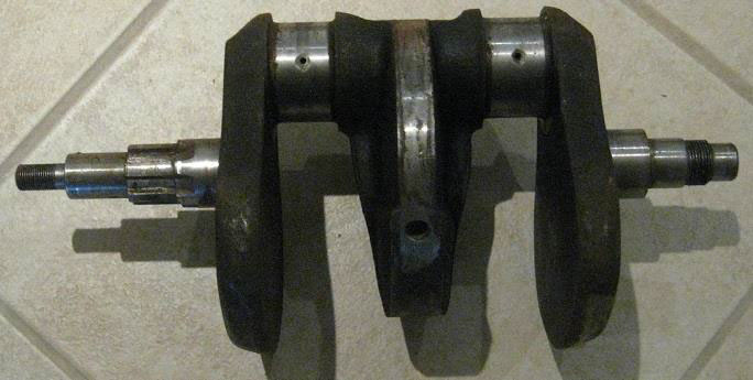 Forged crankshaft