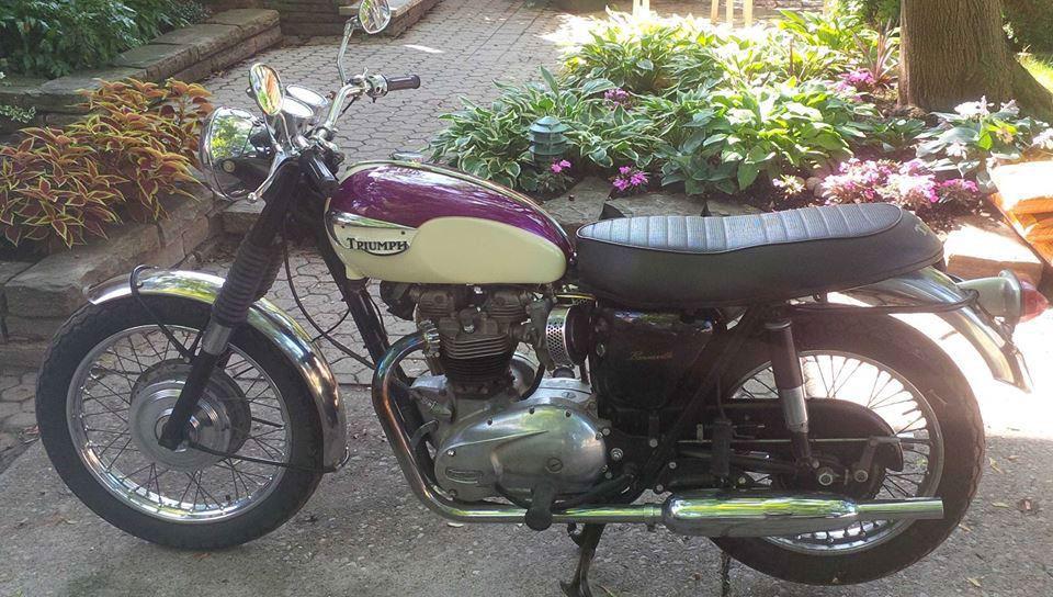Restored 1967 Triumph Bonneville