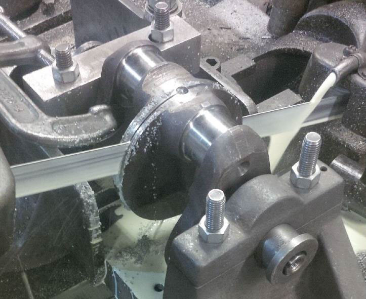crankshaft sawing