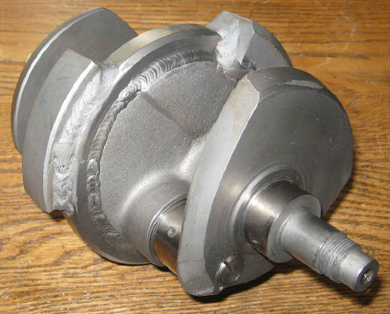 Balanced Triumph crankshaft