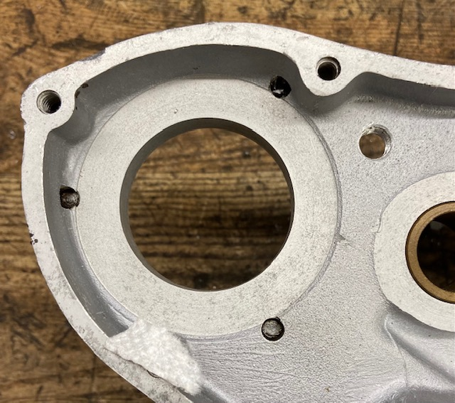 Triumph Breather Hole